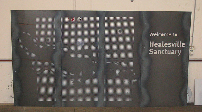 custom made decorative screen