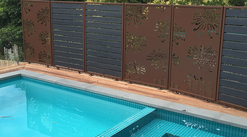 decorative screen in Australia