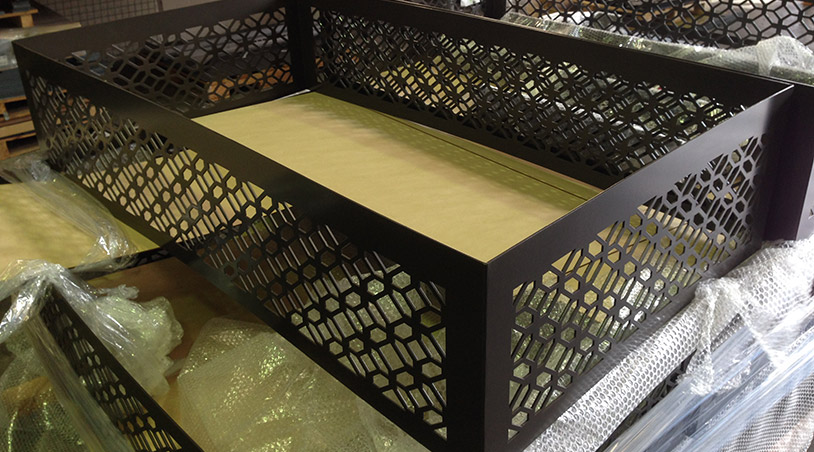 laser cutting screens Melbourne