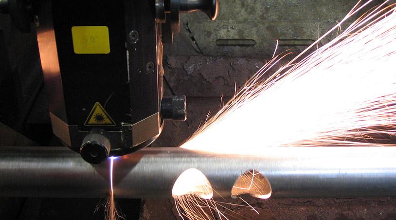 rotary laser cutting machine